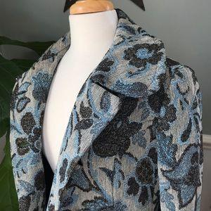 Jackets & Blazers - Vintage Tapestry Carpet Brocade Coat